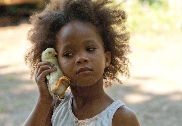 Quvenzhané Wallis em Beasts of the Southern Wild
