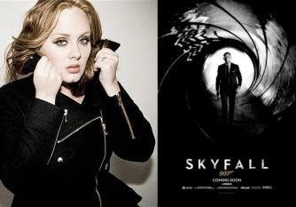 Adele e 007 - Operação Skyfall: grandes chances de premiação (foto por twentyfourbit.com)