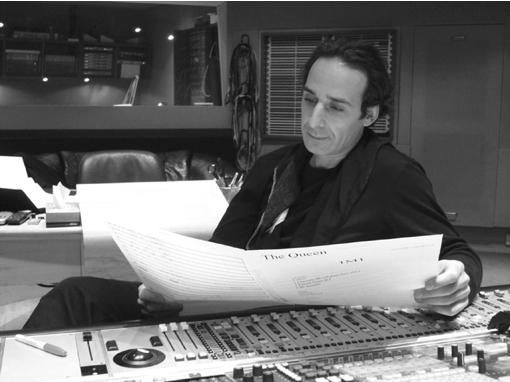 O compositor francês Alexandre Desplat: 3 chances de concorrer ao Oscar
