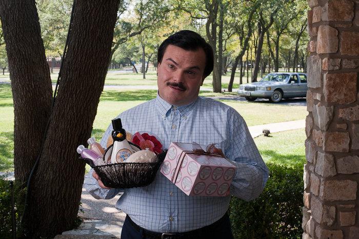 Jack Black, o catador de viúvas em Bernie (foto por Cinemagia.ro)