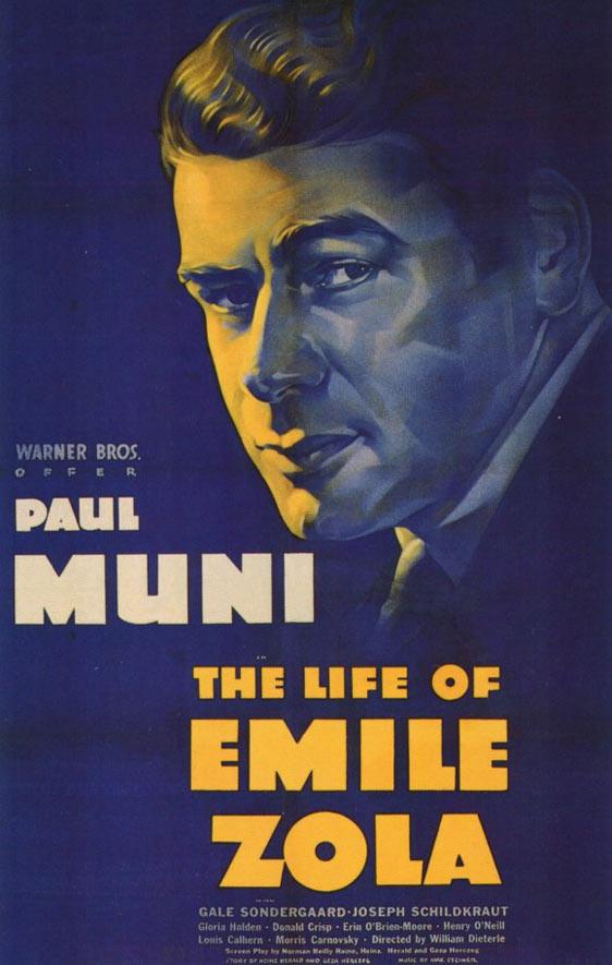 A Vida de Emile Zola, de William Dieterle