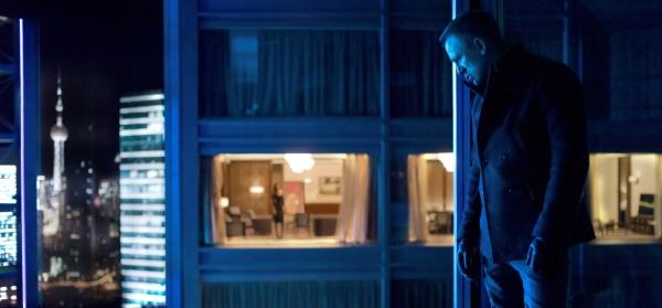 Talvez a cena mais linda visualmente em 007 - Operação Skyfall. Belo trabalho de Roger Deakins.