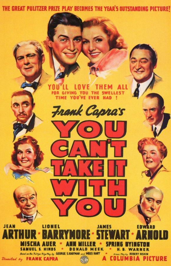 Do Mundo Nada se Leva, de Frank Capra