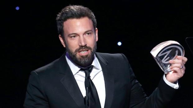 Vitória do produtor Ben Affleck por Argo no PGA Awards