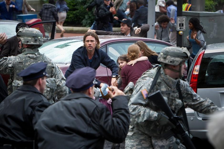 Guerra Mundial Z: outra produção pós-apocalíptica envolvendo zumbis (photo by BeyondHollywood.com)