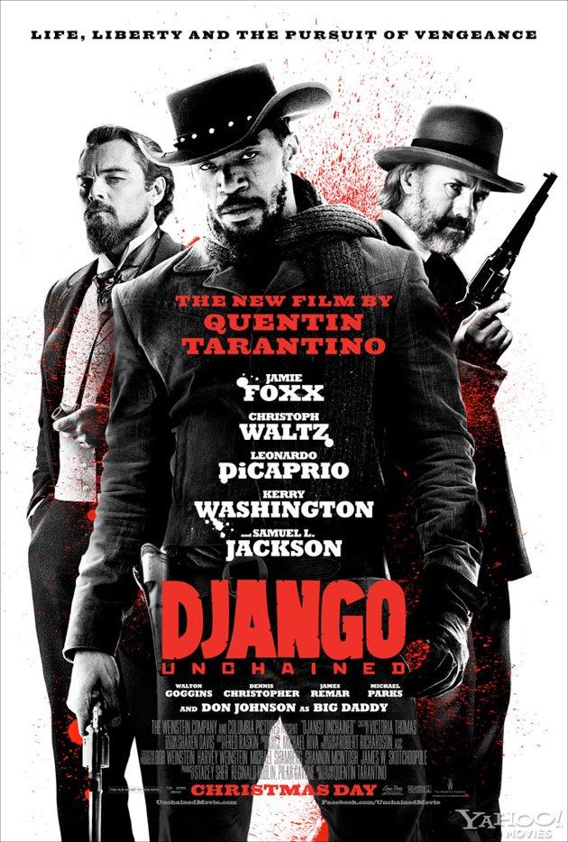 Pôster de Django Livre (foto por pipocamoderna.com.br)
