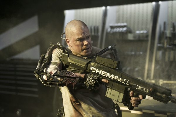 Matt Damon em Elysium (photo by OutNow.CH)