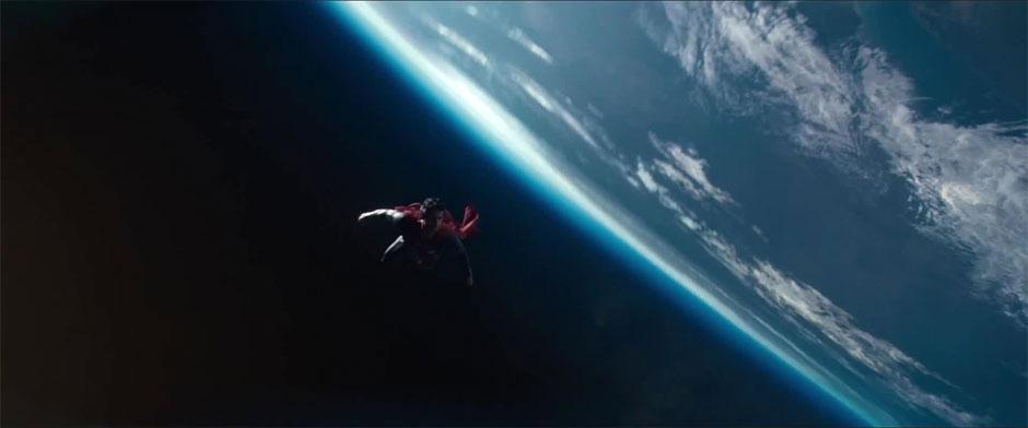 O Homem de Aço: Depois de Christopher Reeve e Brandon Routh, chegou a vez de Henry Cavill (photo by BeyondHollywood.com)
