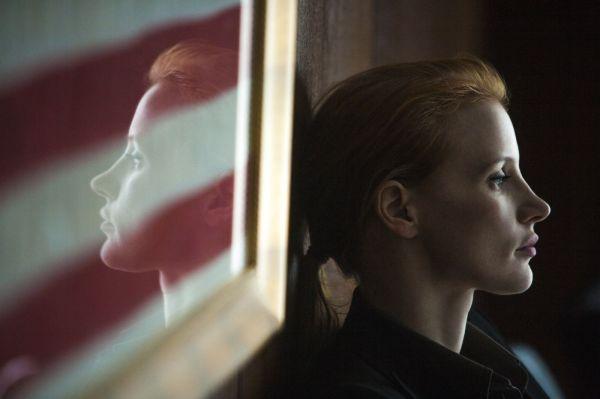 Jessica Chastain ganhou destaque em 2012 por Histórias Cruzadas, A Árvore da Vida e O Abrigo.  Agora concorre por A Hora Mais Escura (photo by OutNow.CH)