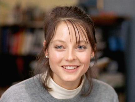 Jodie Foster, como a agente Clarice Starling em O Silêncio dos Inocentes: minhas paixão quando eu tinha meus 10 aninhos.