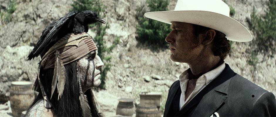 O Cavaleiro Solitário: Johnny Depp e Armie Hammer fazem dupla que faz justiça no velho oeste (photo by BeyondHollywood.com)