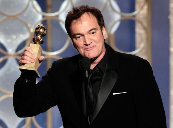 Um dos melhores roteriristas em atividade em Hollywood, Quentin Tarantino, bateu Chris Terrio (Argo) por seu western Django Livre (photo by eonline.com)