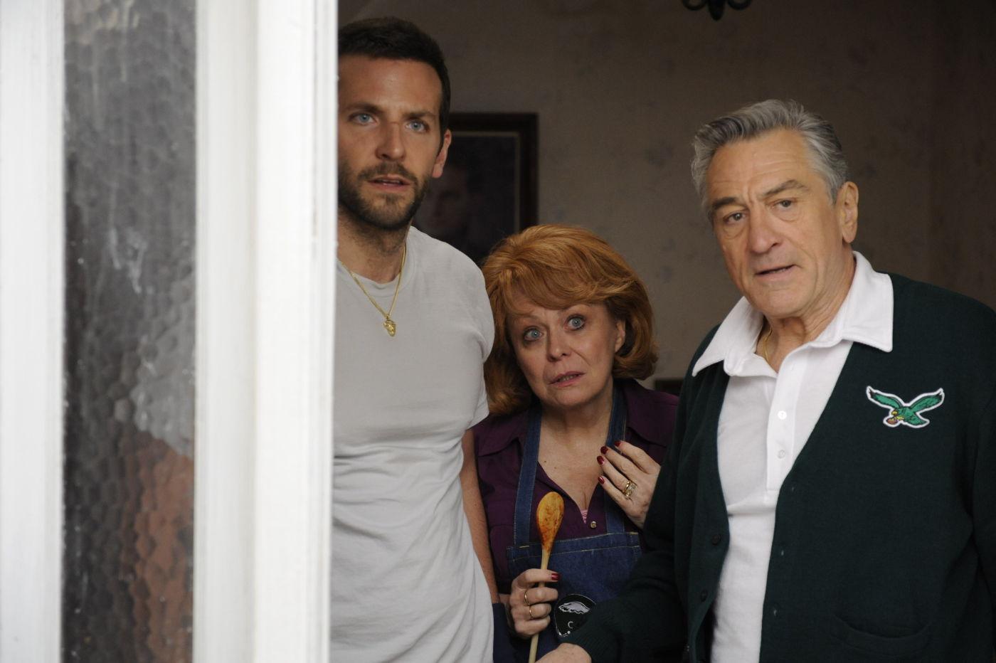 Três dos quatro indicados do filme O Lado Bom da Vida, que foi abraçado pela Academia.