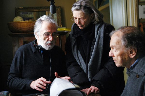 Michael Haneke dirige lendas do cinema francês em Amor (photo by OutNow.CH)