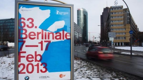 Pôster da 63ª edição do Festival de Berlim nas ruas da cidade (photo by http://www.cp24.com)