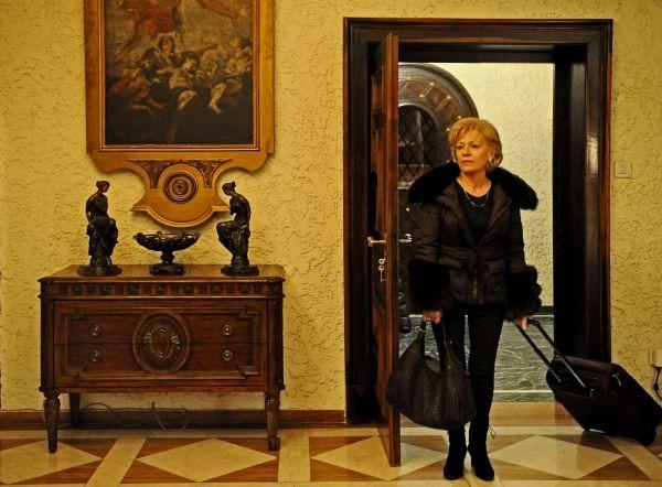 Urso de Ouro: A atriz Luminita Gheorghiu em cena do drama romeno Child's Pose.