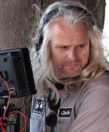 O diretor de fotgrafia Claudio Miranda, que concorre por As Aventuras de Pi (photo by arri.com)