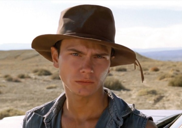 River Phoenix em Dark Blood (photo by www.berlinale.de)