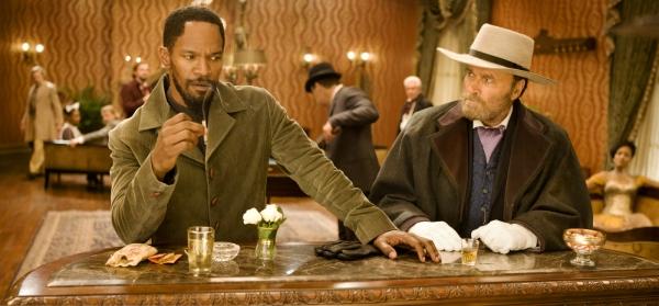 Django e Django: Franco Nero (à esq) faz uma pequena participação (photo by OutNow.CH)