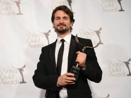 O vencedor do WGA award de Melhor Roteiro Original, Mark Boal, por A Hora Mais Escura (photo by usatoday.com)