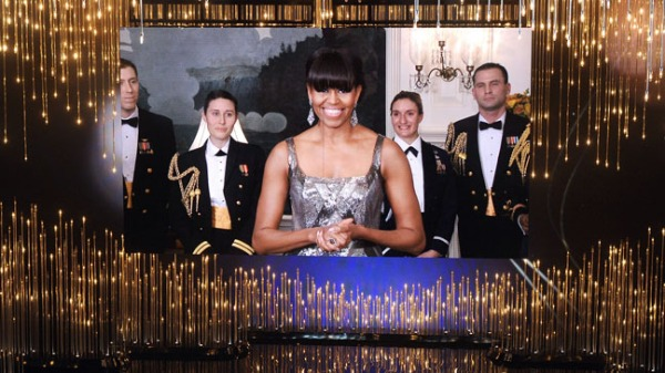 Ao vivo da Casa Branca, Michelle Obama elogia o Cinema e apresenta o vencedor do Oscar de Melhor Filme (photo by Hollywoodreporter.com)