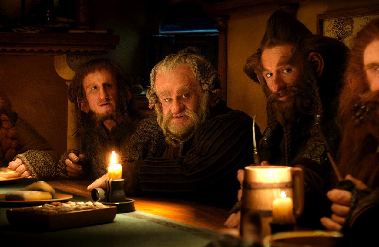 Novos personagens do universo de J.R.R. Tolkien permitiram trabalho novo de maquiagem (photo by cinemagia.ro)