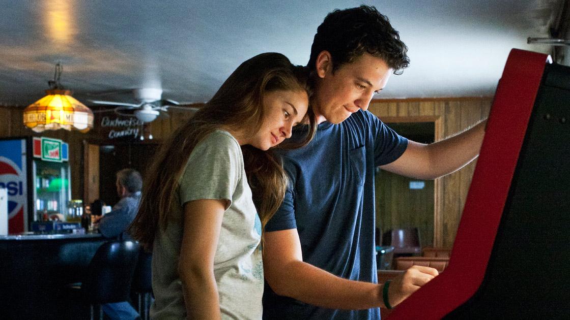 Shailene Woodley e Mike Teller: vencedores do prêmio de atuação em Sundance por The Spectacular Now (photo by filmguide.sundance.org)