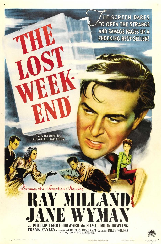 Farrapo Humano (The Lost Weekend), de Billy Wilder: 4 Oscars