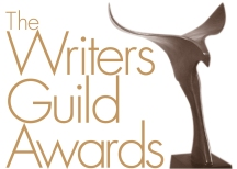 WGA: Writers Guild Awards 2013 (logo in theartsyfilmblog.com)