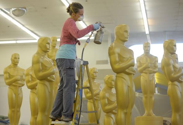 Preparativos para o Oscar 2014?? Sim, já está tudo combinado... (photo by zimbio.com)