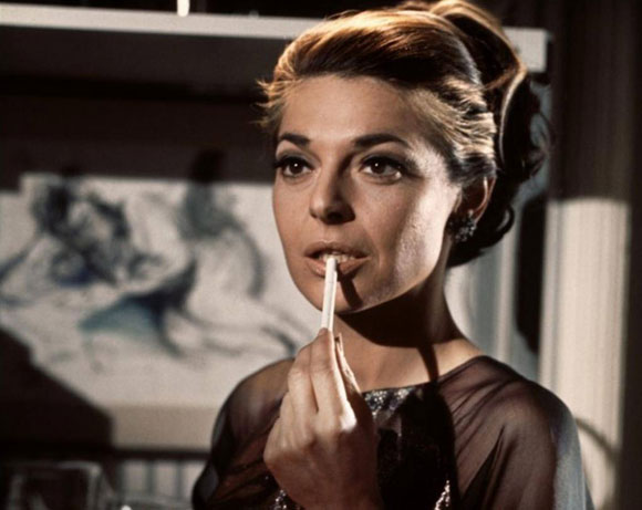 Anne Bacroft em A Primeira Noite de um Homem (photo by top10films.co.uk)