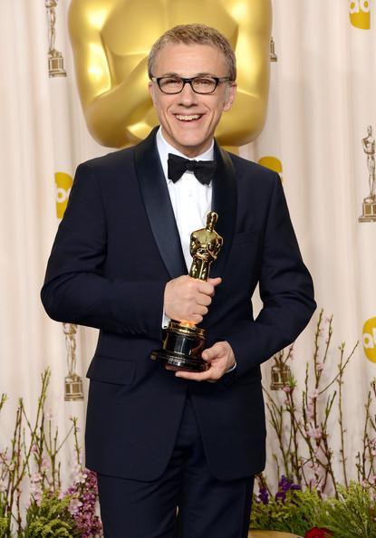 Christoph Waltz com seu segundo Oscar sob direção de Quentin Tarantino (photo by zimbio.com)
