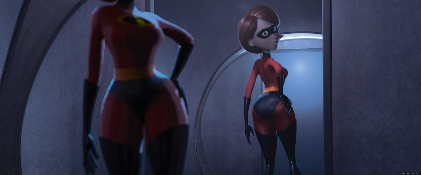 Thick milf elastigirl getting fucked in the ass the incredibles porn helen parr mrs incredible mom mother - 5 1