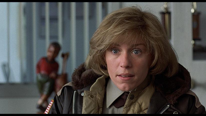 Frances McDormand em Fargo (photo by cinemasquid.com)