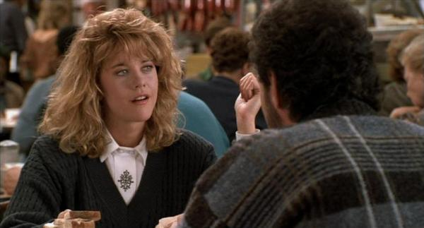 Meg Ryan como Sally em Harry & Sally - Feitos um Para o Outro (photo by nicksflickpicks.com)