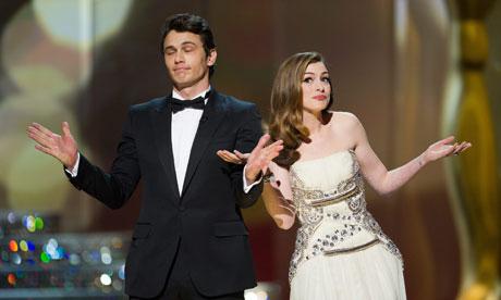 James Franco e Anne Hathaway: Que isso não se repita! (photo by guardian.co.uk)