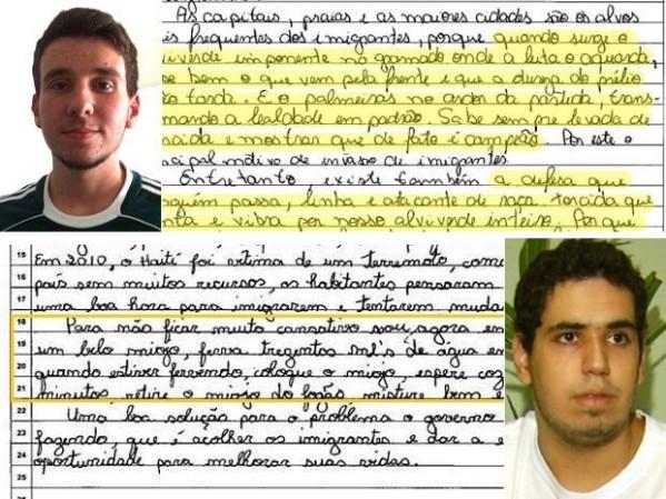Atitudes infantis no ENEM desmascaram sistema de avaliação falho (foto por castrodigital.com.br)