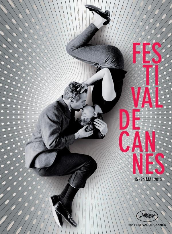 Pôster do Festival de Cannes 2013, estrelado pelo casal hollywoodiano Paul Newman e Joanne Woodward