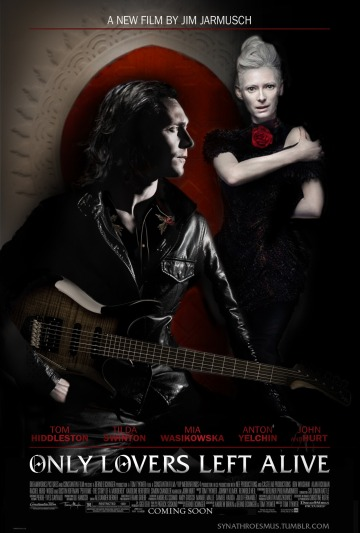 Pôster de Only Lovers Left Alive, de Jim Jarmusch