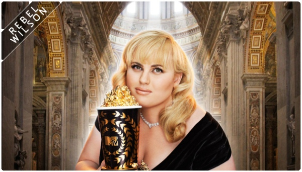 Rebel Wilson em foto de divulgação do MTV Movie Awards