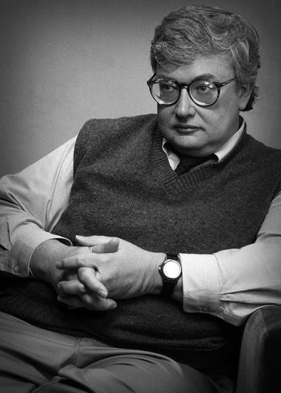O crítico de cinema Roger Ebert