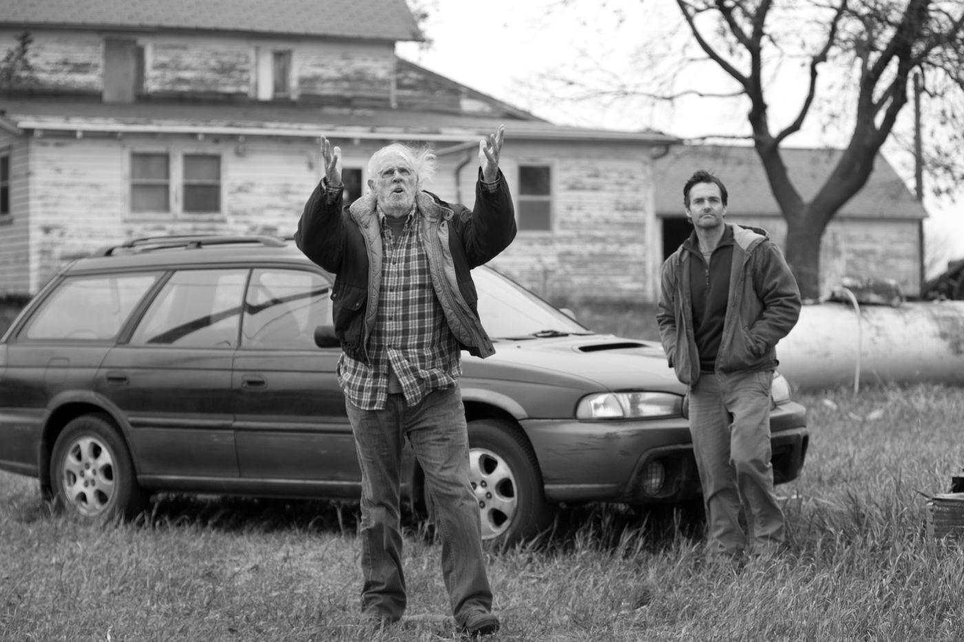Bruce Dern e Will Forte em Nebraska, de Alexander Payne, um dos favoritos à Palma de Ouro (photo by www.outnow.ch)