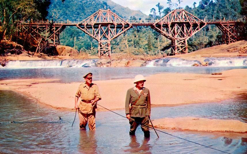A Ponte do Rio Kwai (The Bridge on the River Kwai/ 1957), de David Lean