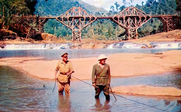 A Ponte do Rio Kwai (The Bridge on the River Kwai/ 1957), de David Lean