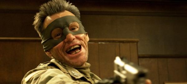 Jim Carrey como o Coronel Stars and Stripes em Kick-Ass 2 (photo by www.beyondhollywood.com)