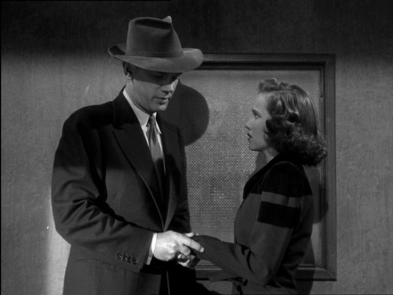 Tio Charlie com a sobrinha em Sombra de uma Dúvida (1943), de Alfred Hitchcock
