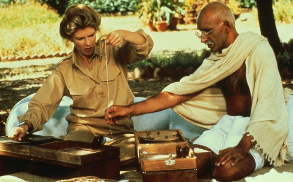 Gandhi, de Richard Attenborough (photo by