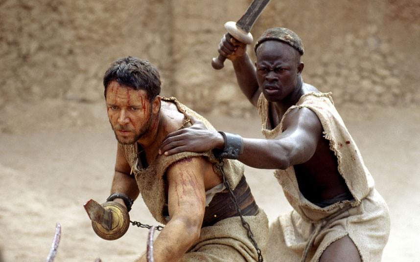 Gladiador, de Ridley Scott (photo by