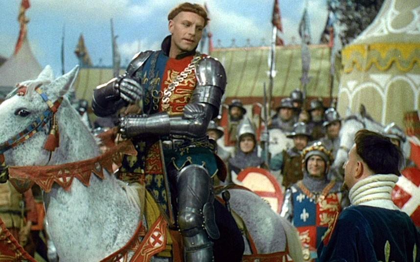 Henrique V, de Laurence Olivier (photo by