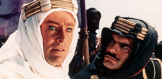 Lawrence da Arábia, de David Lean (photo by www.britannica.com)